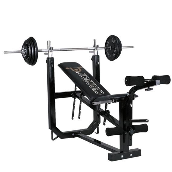 chanson强生 cs-8706 多功能举重健身机(不含杠片及图片