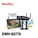 SecuFirst DWH-A077X 數位無線網路監視器(一機二鏡) (內附32G SD卡)