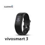 GARMIN vivosmart 3 腕式心率智慧手環(小) 黑色 010-01755-A1