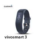 GARMIN vivosmart 3 腕式心率智慧手環(小) 藍色 010-01755-A3