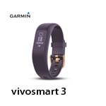 GARMIN vivosmart 3 腕式心率智慧手環(小) 紫色 010-01755-A4