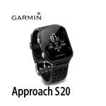 GARMIN Approach S20 黑色 中文高爾夫球GPS腕錶 010-03723-11