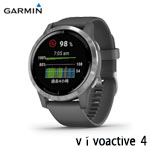 GARMIN vivoactive 4 隕石灰 GPS智慧腕錶(45mm) 010-02174-05