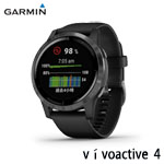 GARMIN vivoactive 4 石墨黑 GPS智慧腕錶(45mm) 010-02174-15