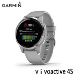 GARMIN vivoactive 4S 銀河灰 GPS智慧腕錶(40mm) 010-02172-05