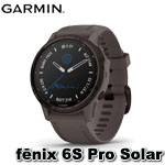 GARMIN fenix 6S Pro Solar 進階太陽能複合式運動GPS腕錶 010-02409-23