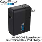 GoPro AWALC-002 Supercharger-International Dual-Port Charger 通用型雙連接埠充電器(總代理公司貨)