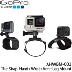GoPro AHWBM-001 The Strap-Hand+Wrist+Arm+Leg Mount 手部+腿部固定帶(總代理公司貨)