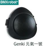 其它 BMXrobot BMXG-01 霧面黑 Genki 元氣一號 個性款 口罩型空氣清淨機